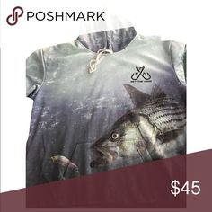 Fishing hoodie Striped bass fishing hoodie. Brand new Shirts Sweatshirts & Hoodies