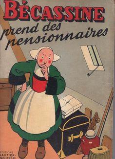 BECASSINE PREND DES PENSIONNAIRES - 1951