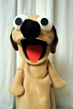 ATTACK OF THE CRAFT: Dog Puppet Tutorial