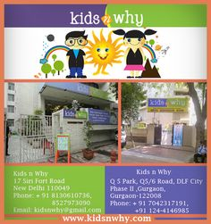 Do you search Top Day Cares in Cyber City Gurgoan for your kid? you can  visit:  http://www.kidsnwhy.com/ Phone: + 91 7042317191,  +91 124-4146985  Email: kidsnwhy@gmail.com  #PlaySchool   #preschool   #Gurgoan   #TopPlayschoolsinGurgoan #TopDayCaresinCyberCity