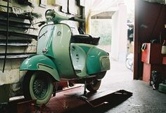 Two-tone Vespa GS