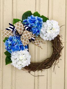 A personal favorite from my Etsy shop https://www.etsy.com/listing/518121819/spring-wreath-summer-wreath-coastal