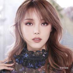 Etude x Pony Play 101 - Pony - Park Hye Min - 박혜민 - 포니 - Korean makeup artist - Pony beauty diary - Ulzzang Korean Makeup, Korean Beauty, Asian Beauty, Beauty Make-up, Beauty Hacks, Hair Beauty, Make Up Looks, Pony Makeup, Hair Makeup