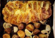 Leveles tésztában sült fűszeres darált hús