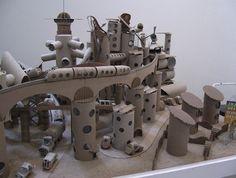 """Maquette PQ Ville, """"La science des rêves"""" de Michel Gondry"""