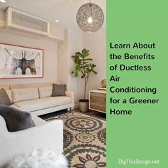 Ductless Air Conditioning Systems For a Greener Home - Dig This Design