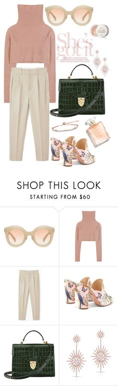 """""""de reuilly"""" by tag-noheuer ❤ liked on Polyvore featuring Kaleos, Valentino, MANGO, Aquazzura, Aspinal of London, Anne Sisteron, CARAT* London and French Girl"""