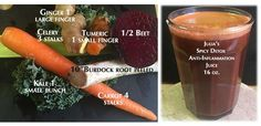 Juicing For Health, Superfoods, Beets, Healthy Skin, Health Benefits, Detox, Spicy, Favorite Recipes