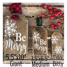Christmas / giant tags / wood tags / farmhouse signs / christmas signs / christmas decor / stocking tags / christmas tags / name tags - Holz Design Christmas Wooden Signs, Christmas Crafts To Sell, Silver Christmas Decorations, Christmas Tag, Rustic Christmas, Christmas Projects, Winter Christmas, Diy Crafts To Sell, Farmhouse Christmas Ornaments