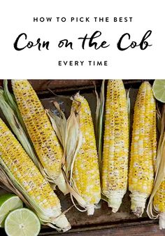 Here's the 5-second trick to picking the best corn on the cob.
