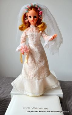 Boneca Susi Noiva 1974