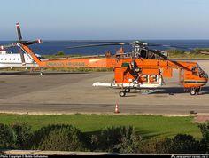 Erickson Air-Crane Sikorsky Skycrane taken at . Erickson Air Crane, Sukhoi, Choppers, Firefighter, Aviation, Aircraft, Sky, Friends, Heaven