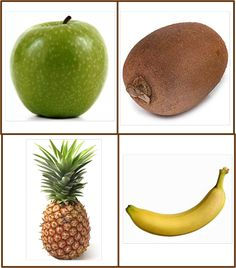 Food Crafts, Preschool Crafts, Fruit And Veg, Fruits And Vegetables, House Drawing For Kids, Healthy Prepared Meals, Learn Arabic Online, Flashcards For Kids, Fruit Picture