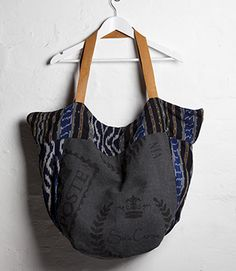 Carry All Bag - Stamped Canvas Carry All Bag, Natural Linen, Vintage Looks, Travel Bags, Printing On Fabric, Winter Outfits, Reusable Tote Bags, Handbags, Purses