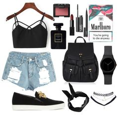 Designer Clothes, Shoes & Bags for Women Wet Seal, Nars Cosmetics, Boohoo, Versace, Polyvore Fashion, Chanel, Ootd, Shoe Bag, Stuff To Buy