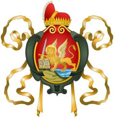 Coat of Arms of the Republic of Venice. This Day in History: Mar 25, 421: Venice is founded at twelve o'clock noon http://dingeengoete.blogspot.com/