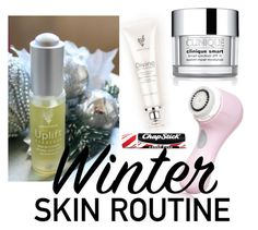 """""""Winter Skin Routine"""" by jordan-hansen on Polyvore featuring beauty, Clarisonic, Chapstick, Clinique and burrrbeauty"""