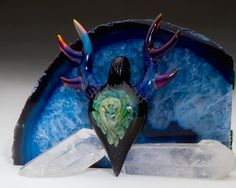 """Hemlock x Justin Carter """"Space Stag"""" Pendant Collaboration"""