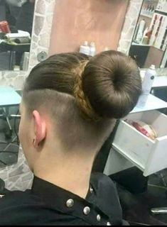 #hairdare #womenshair #beauty #hairstyles #undercut Shaved Undercut, Undercut Long Hair, Shaved Nape, Shaved Sides, Undercut Bob, Undercut Hairstyles Women, Pompadour Hairstyle, Sleek Hairstyles, Braided Hairstyles