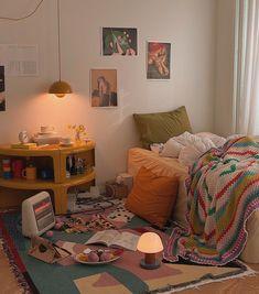 Room Ideas Bedroom, Bedroom Decor, Pretty Room, Aesthetic Room Decor, Cozy Room, Dream Rooms, My New Room, House Rooms, Decoration
