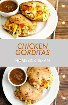 How to Make Gorditas with Step-by-Step Pictures + Video Gorditas Recipe Mexican, Honduran Recipes, Chicken Recipes, Authentic Mexican Recipes, Mexican Food Recipes, Ethnic Recipes, Tamales, Appetizers, Chicken