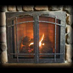 Batchelder tile fireplace designy craftsman love for Craftsman gas fireplace