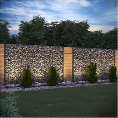 Gabion Stone Barrier Visual Protection Anthracite Stone Fence Gabion Fence Related posts: No related posts. The post Gabion Stone Barrier Visual Protection Anthracite Stone Fence Gabion Fence appeared first on lafinance. Backyard Fences, Garden Fencing, Front Yard Landscaping, Landscaping Ideas, Front Yard Fence Ideas, Nice Backyard, Backyard Kids, Low Fence, Easy Fence