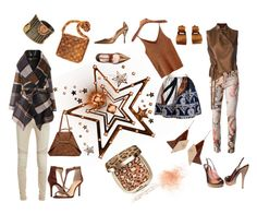 Bronze by tb-66 on Polyvore featuring Ann Demeulemeester, Chicwish, Balmain, Joana Almagro, Étoile Isabel Marant, Gucci, Imagine by Vince Camuto, Paula Mendez, Akris and Louis Vuitton