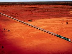The Ghan - from Alice Springs to from Darwin/ Great Southern Rail