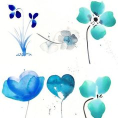 Download beautiful watercolor flowers Photoshop brushes - Beautiful pack of 10 Watercolor Flower Brushes. Download and enjoy! Download at DeviantArt...