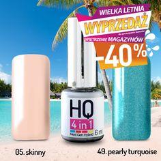 Wszystkie lakiery hybrydowe HQ 4in1 6 ml. bez przemywania, taniej o -40%! Tylko na letniej wyprzedaży!