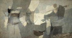 <!--:it-->Pietra Serena, 1957, tecnica mista su tela, 109,3c201,5 cm<!--:-->