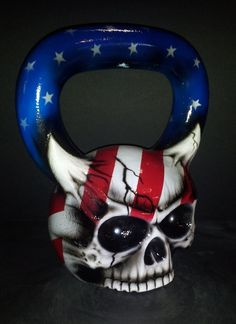 Ironskull Fitness Skullbell Kettlebells - Introducing a bold new look in a world of ordinary kettlebells for strength and conditioning training. Ironskull Fitness Skull Kettlebells are American forged iron kettlebells with an attitude, molding a skelet Conditioning Training, Free Weights, Kettlebell, Weight Lifting, Spiderman, Skull, Iron, Superhero, American