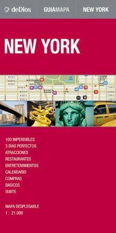 Nueva York, plano-guía callejero plastificado. Escala 1:21.000. De Dios Editores. (Map Guide)  #ParquedeVigeland