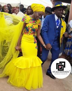 Sepedi Traditional Dresses, South African Traditional Dresses, Traditional Wedding, South African Weddings, Party Dresses, Wedding Dresses, Dress Ideas, African Fashion, Wedding Ceremony
