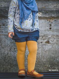 theblogbook | sewing | denim shorts and shirt, lillestoff, susalabim