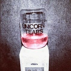 Apparently unicorn tears are pink