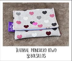 Discover recipes, home ideas, style inspiration and other ideas to try. Kawaii, Boss Me, Fabric Wallet, Sewing Hacks, Couture, Coin Purse, Crochet, Crafts, Diy