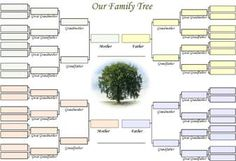 85 Best Family Tree Templates Images Family Trees Templates