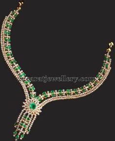 Jewellery Designs: Splendid Colorful Collar Choker