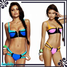 Bandage Bikini Set Swimwear Women Top Striped Halter Push Up Hot Sexy Padded bikini Swimsuit Bathing Suit Beachwear Swimwear 015 Buy from china:Bandage Bikini Set Swimwear Women Top Striped Halter Push Up Hot Sexy Padded bikini Swimsuit Bathing Suit Beachwear Swimwear 015