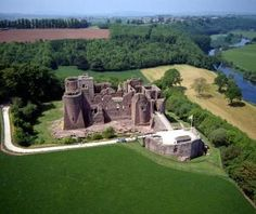 Goodrich Castle -found this belonged to Talbots in my fam tree!   Want to visit