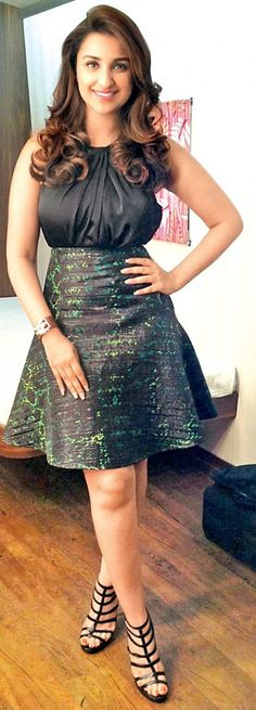 ay or Nay? The black outfit that Parineeti Chopra is wearing