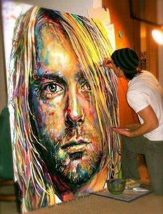 Amazing Art - Kurt Cobain