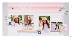 Altering a Pre-Designed Scrapbook Kit What Makes You Happy, Are You Happy, New Catalogue, Crafts For Girls, Video New, Free Prints, Layout Inspiration, Close To My Heart, Something Beautiful