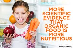 """More Scientific Evidence That Organic Food Is More Nutritious 