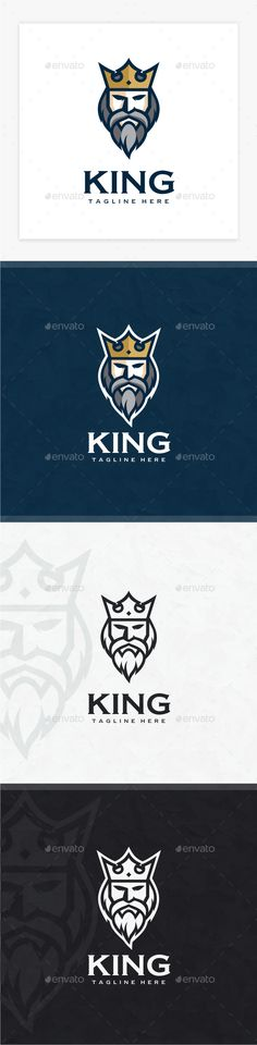 King Logo - Humans Logo Templates Download here : https://graphicriver.net/item/king-logo/19222474?s_rank=80&ref=Al-fatih