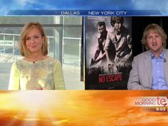 Talking with Owen Wilson about his father's Alzheimers. Touching story.