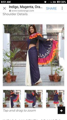 Simple Sarees, Trendy Sarees, Pakistani Outfits, Indian Outfits, Indian Designer Outfits, Designer Dresses, Simple Dresses, Beautiful Dresses, Sari Design