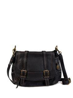 8635c4d45c The Sak Black Double-Buckle Silverlake Leather Crossbody Bag. Elizabeth Ross  · Bags!